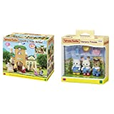 Sylvanian Families Country Tree School Mini muñecas y Accesorios, Multicolor (Epoch para Imaginar 5105), Color/Modelo Surtido + Nursery Friends Mini Muñecas y Accesorios