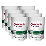 Cascade Platinum Dishwasher Cleaner Pods Fresh Scent, 1 Count (8 Pack)