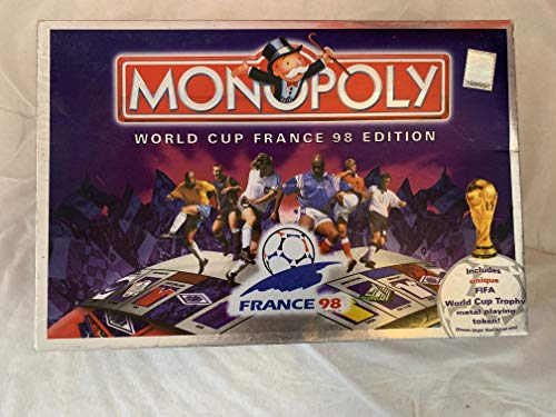 Waddingtons Board Game 19618 - Monopoly World Cup