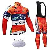 Wulibike Combinaison Cycliste Homme Vélo Vêtement Thermal Hiver Tenue de Vélo...