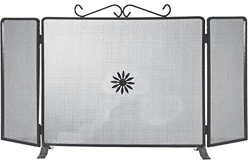 k2calore kt0557–Display Schmiedeeisen (Funktion Rette Funkenschutz, 90x 50cm