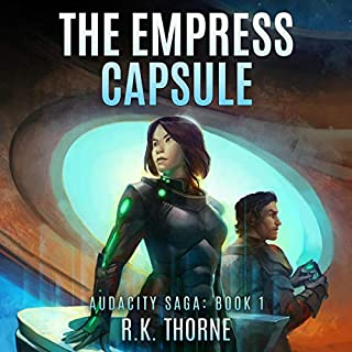 The Empress Capsule audiobook cover art