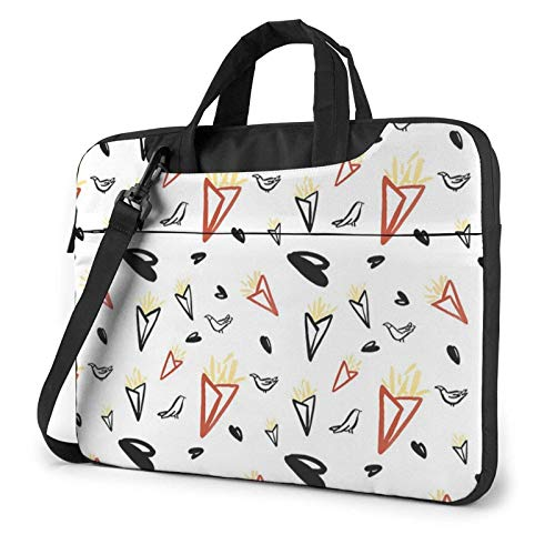 XCNGG Computertasche Umhängetasche Laptop Bag, Pigeon Background Business Briefcase Protective Bag Cover for Ultrabook, MacBook, Asus, Samsung, Sony, Notebook 13 inch