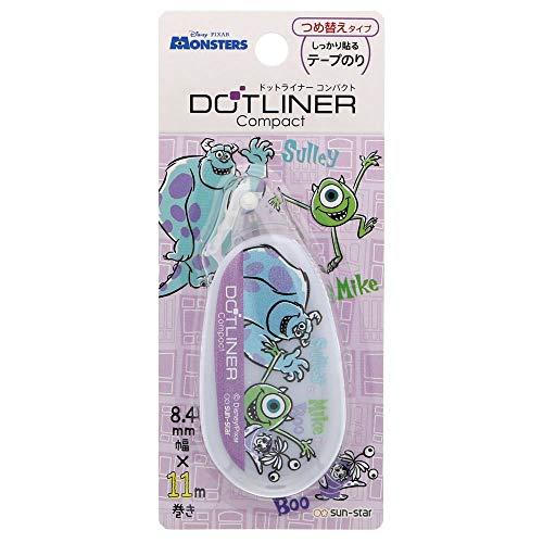 サンスター文具 ディズニー テープのり ドットライナー コンパクト モンスターズインク S3717933