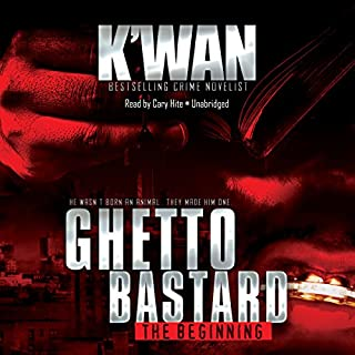 Ghetto Bastard audiobook cover art
