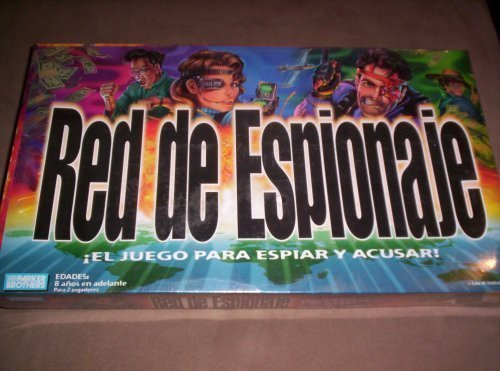 Red de Espionaje Spanish Spy Game by Parker Brothers