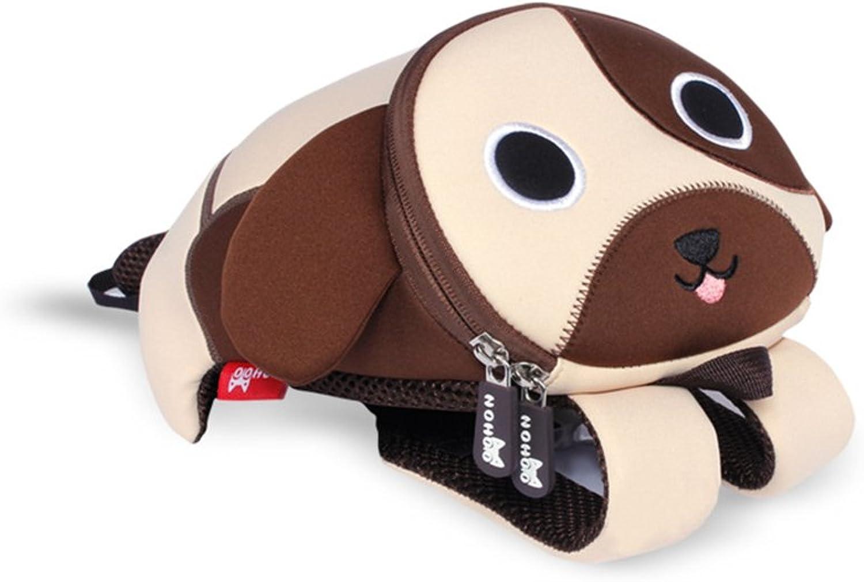envio rapido a ti NOHOO embroma embroma embroma el bolso de la guardería del morral para los muchachos y las muchachas 1  3 años (perro marrón)  punto de venta de la marca