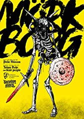 A doom metal album of a game. A spiked flail to the face. Light on rules, heavy everything else. MÖRK BORG is a pitch-black apocalyptic fantasy RPG about lost souls and fools seeking redemption, forgiveness or the last remaining riches in a bleak and...