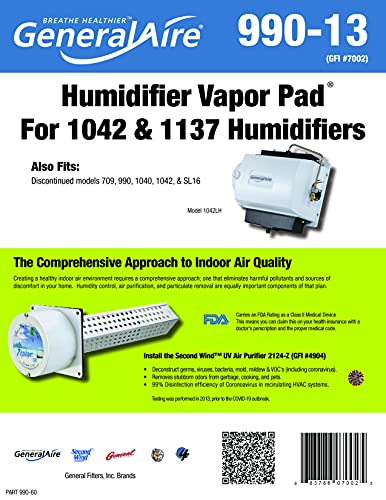 GeneralAire 990-13 Humidifier Water Filter