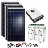 Kit Solar 12v Plus 450w Hora Inversor 3000w Opzs 2v 345AH