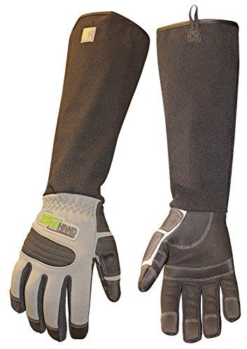 ArmOR Hand Glove, Full Finger Animal Handling Gloves, Veterinarian Zookeeper Wildlife Handling Gloves in X-Large