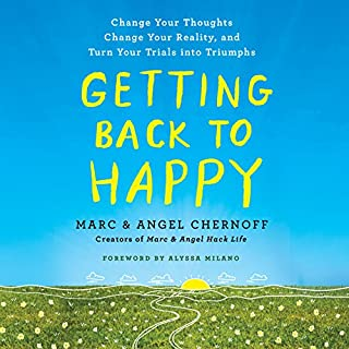 Getting Back to Happy audiobook cover art
