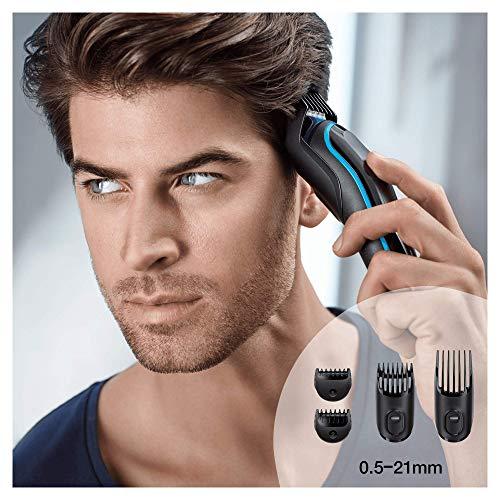 Braun MGK3080 - Set de afeitado multifunción 9 en 1, depiladora masculina, recortadora de...