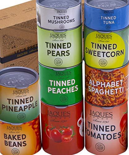 Jaques de Londres Compras Juego de Comida con latas de Comida británica y Comida de la Tienda de fantasía - Juguetes de Primera Calidad para 3 4 5 6 7 años de Edad Desde 1795