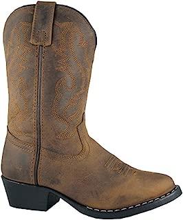 Kids Denver Leather,Oil Distress Brown,4 M US Big Kid
