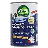 Nature's Charm Crema de coco para batir 400ml | Sin lactosa (Pack de 2)