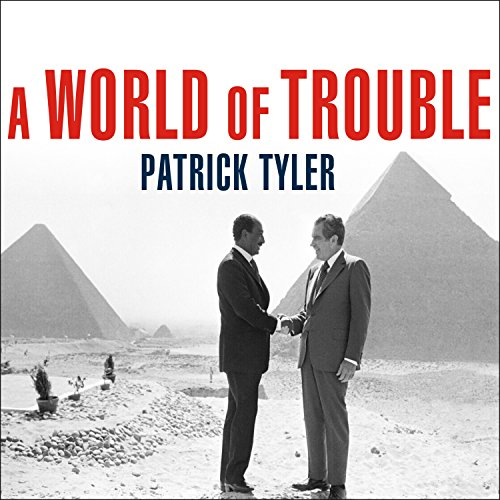 A World of Trouble audiobook cover art
