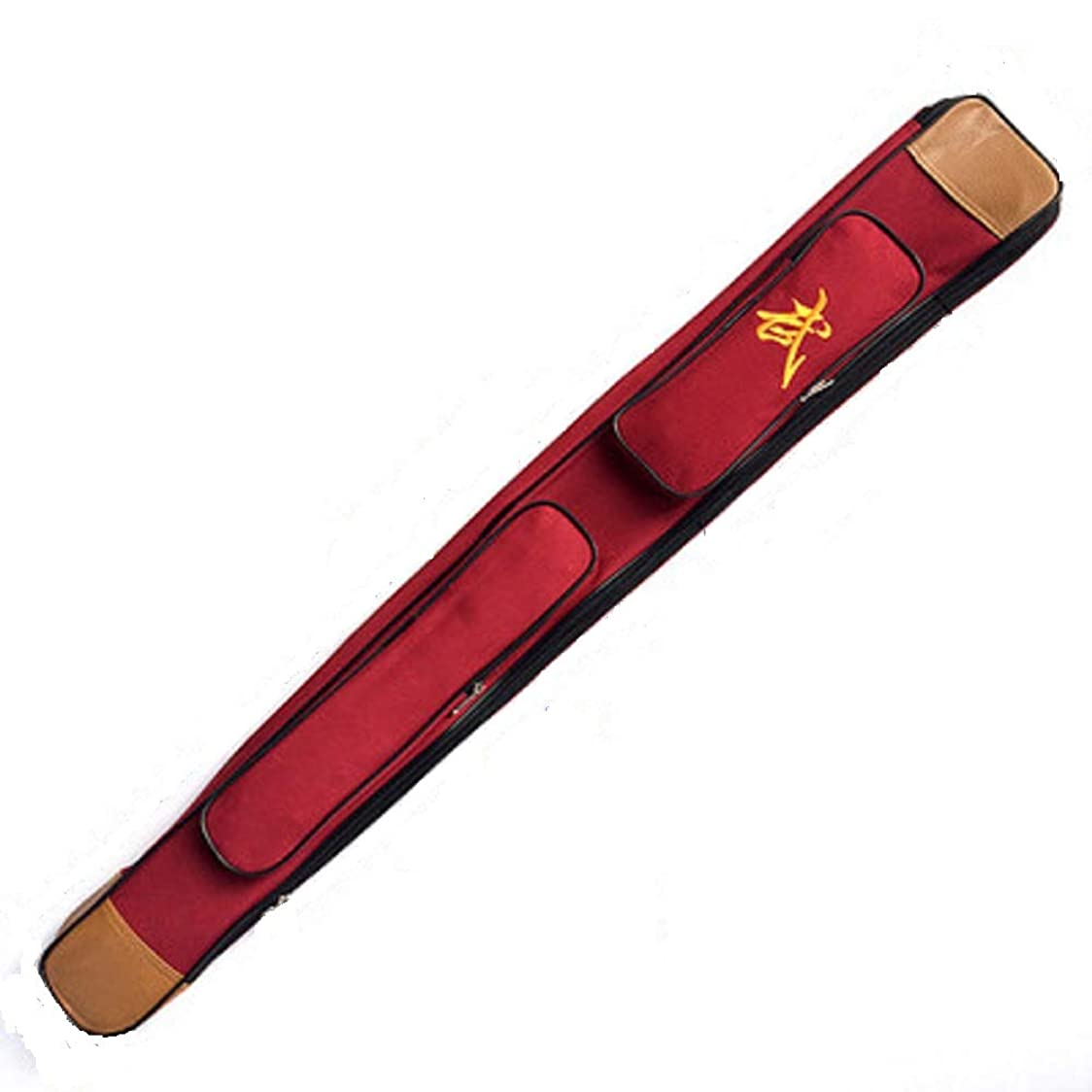 扇動する上回る禁じる剣道 竹刀 木刀 収納バッグ 110cm 肩掛け 収納 ケース(ダブル重)