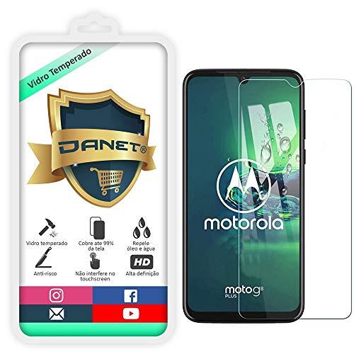 "Película De Vidro Temperado Para Motorola Moto G8 Plus Tela 6.3"" Polegadas Proteção Blindada Anti Impacto Top Premium - Danet"