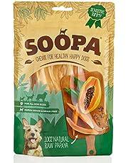 Soopa Papaya Masticables para Perros, 85 g