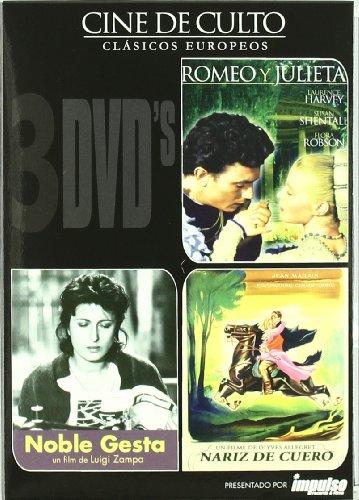 Romeo y Julieta + Noble gesta + Naríz de cuero [DVD]