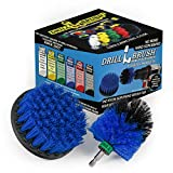 Kayak - Cleaning Supplies - Drill Brush - Raft - Boat - Canoe - Inflatable - Boat Accessories - Hull Cleaner - Pond Scum, Oily Residue, Barnacles, Oxidation - Spin Brush