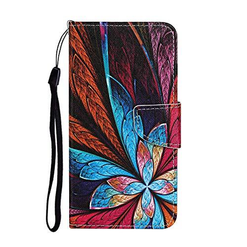 Hülle für Oppo Realme C3 Handyhülle Schutzhülle Leder PU Wallet Bumper Lederhülle Ledertasche Klapphülle Klappbar Magnetisch für Oppo Realme C3 - ZIXC0011244#8