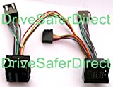 INKA-902804-41-3A ISO SOT Mute Lead for Parrot CK3100, CK3200, MKi9100, MKi9200 and other ISO handsfree kits for vehicles: BMW 1-series, BMW 3-series E46, BMW 3-series E90/E91/E92/E93, BMW 5-series E39, BMW 5-series E60/E61, BMW 6-series E63/E64, BMW X3 E83, BMW X5 E53, BMW X5 E70, BMW X6 E71, BMW Z4 E85/E86, BMW Z8 E52