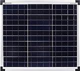 enjoysolar® Polykristallin Solarpanel 12V Poly Solarmodul (30W)