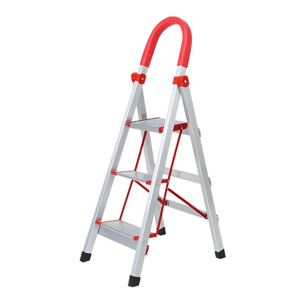 NYDZDM Escalera Plegable con peldaños Escalera Antirruido Escalera de Espiga con peldaños 3/4 escalones Exterior Cubierta (Size : 3 Steps): Amazon.es: Hogar