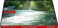 4K409_4K動画素材集グランモーション グリーンストリーム1(ロイヤリティフリーDVD素材集)