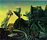 P5995 A2 Poster Max Ernst The Nymphe Echo – Kunst