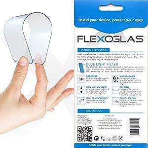 Flexoglas Pellicola Compatibile con iPhone 11 Compatibile con iPhone XR Vetro Temperato Flessibile Filtro Luce Blu Vetrino Protettivo Protezione Schermo Resistente Protettiva Antiurto 6.1 Pollici