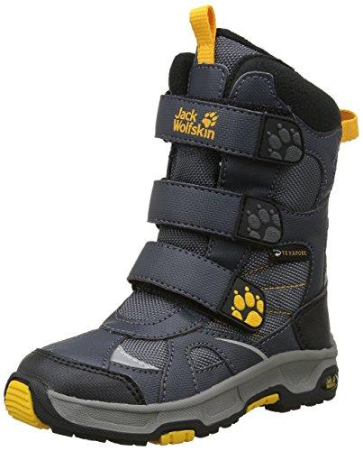 Jack Wolfskin Boys Snow Diver Texapore chłopięce buty zimowe, szary - szary Burly Yellow Xt 3802-26 EU