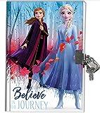 Diario segreto lucchetto Frozen 2-14 x 18 cm