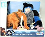 TPF Toys Ice Age Continental Drift Movie Plush 2Pack Manny Captain Gutt