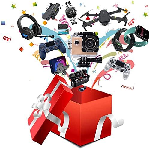 TGSCX Caja misteriosa: envía Hermosos Regalos. Se Puede Abrir: los últimos teléfonos móviles, Drones, Relojes Inteligentes, etc, Todo es Posible, Todos los artículos Son nuevos.