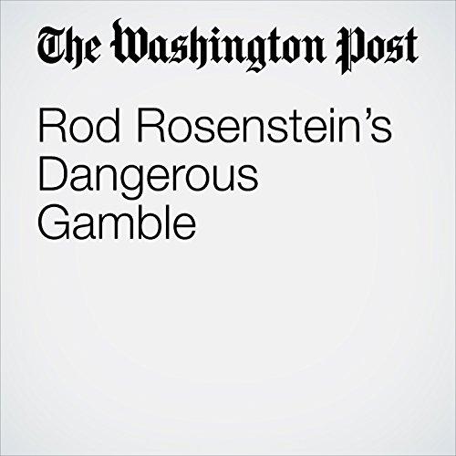Rod Rosenstein's Dangerous Gamble copertina