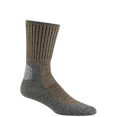 Wigwam Hiking Outdoor F6077 Sock, Dark Khaki Heather - Large