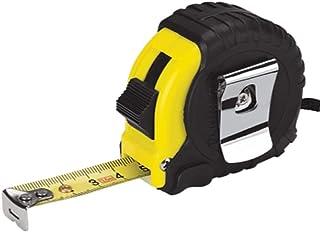 Mètre ruban rétractable 5 mètres Griplock métriques impériales (noir/jaune)
