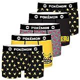 Pokémon Lot de 5 Boxers Coton garçon