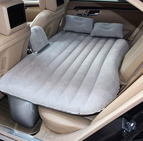 WFFM Aufblasbares Bett mit Auto Luftpumpe Aufblasbare Matratze Schlafreisematratze und Limousinen Rücksitze hinten im Auto SUV-KissenBettautozubehör