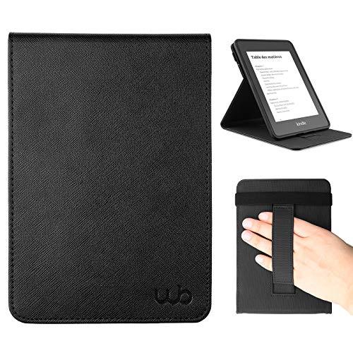 Webookers Paperwhite Freedom Capa Novo Kindle Auto Hibernação - Preta