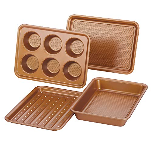 (26% OFF) Ayesha Curry Nonstick Bakeware Set $18.60 Deal