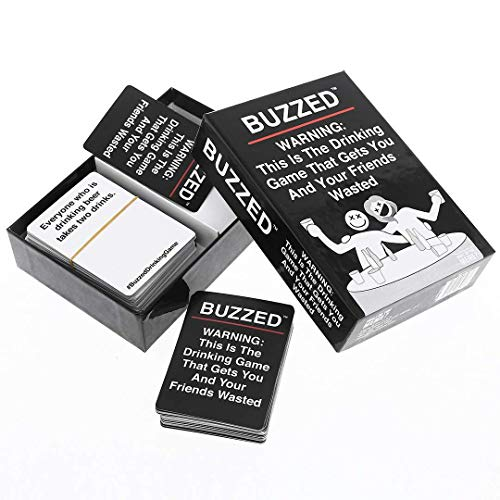 New Buzzed Card Game - The Hilarious Party Favors Party Game Drinking Game Card Decks & Sets
