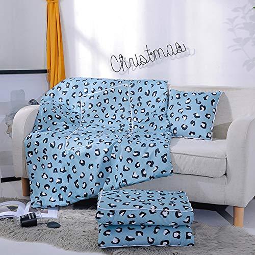 Reisedecke Weiche 2-in-1 Flugzeugdecke Warme Decke Kissen Multifuntional Kissen Quilt 2 In 1 Travel Office Portable Kissen Dekorative for Sofa-Bett GCSQF1022 (Color : 04)