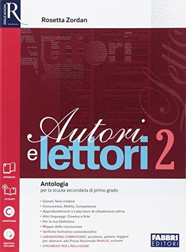 Autori e lettori-Quaderno-Letteratura-Extrakit-Openbook (Adozione tipo B). Per la Scuola media. Con e-book. Con espansione online (Vol. 2)