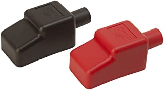 Sea Dog 415110-1 1/2 Battery Terminal Covers - Red/Black, Packaged