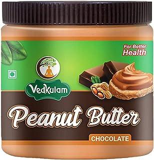 Vedkulam Peanut Butter (Chocolate) (340 gm) |Non GMO | Gluten Free | Vegan | Cholesterol Free (340 gm)