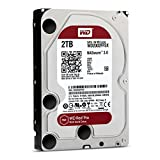WD Red Pro 2TB NAS Hard Disk Drive - 7200 RPM SATA 6 Gb/s 64MB Cache 3.5 Inch - WD2001FFSX
